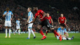 Manchester United vs Huddersfield Town 3-1 Video Gol Highlights