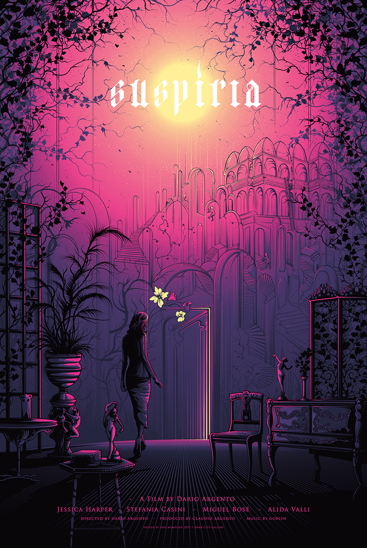 Inside The Rock Poster Frame Blog Dan Mumford Suspiria