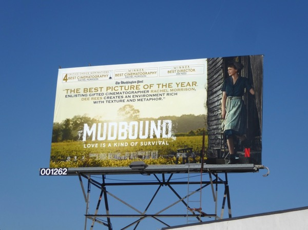Mudbound For your consideration billboard