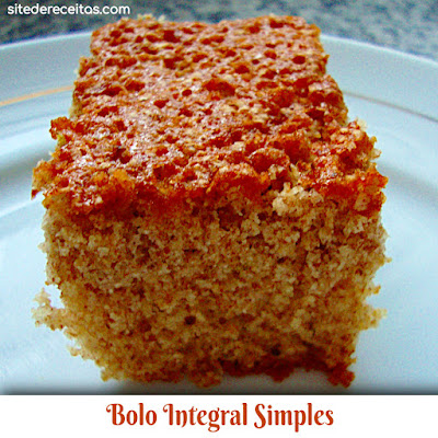 Bolo integral simples
