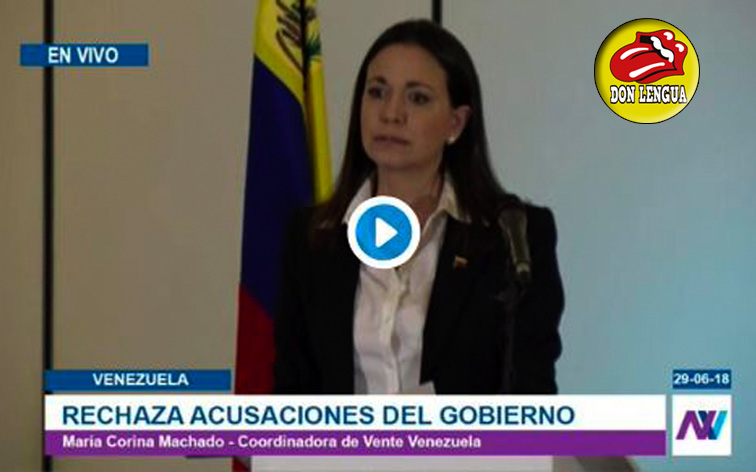 María Corina quiere a Maduro vivo para que pague lo que ha hecho