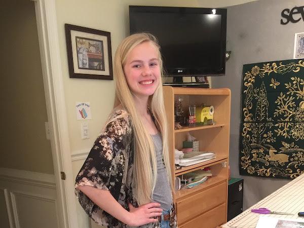 My Crafty Teen's Quick Kimono