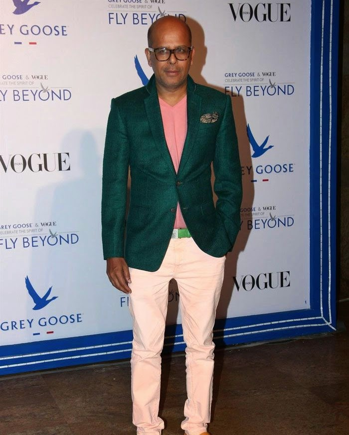 Narendra Kumar, Pics from Red Carpet of Grey Goose & Vogue's Fly Beyond Awards 2014