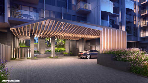 Alps Residences Drop Off