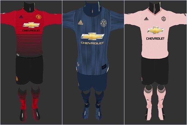 Pes 2019 manchester united kit 2019 15
