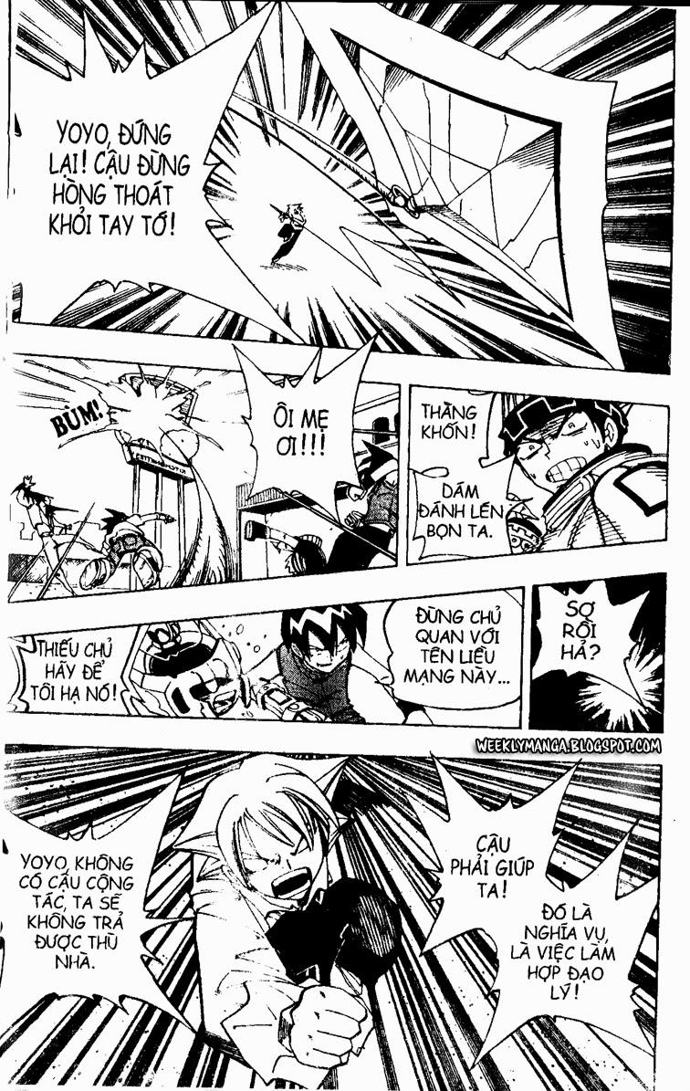 Shaman King [Vua pháp thuật] chap 88 trang 8