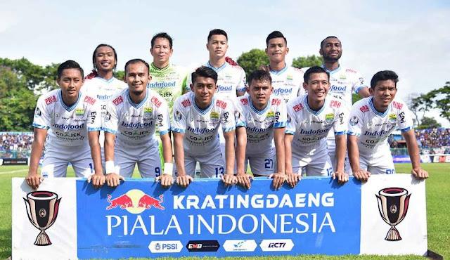Susunan Pemain Persib Bandung vs Persiwa Wamena