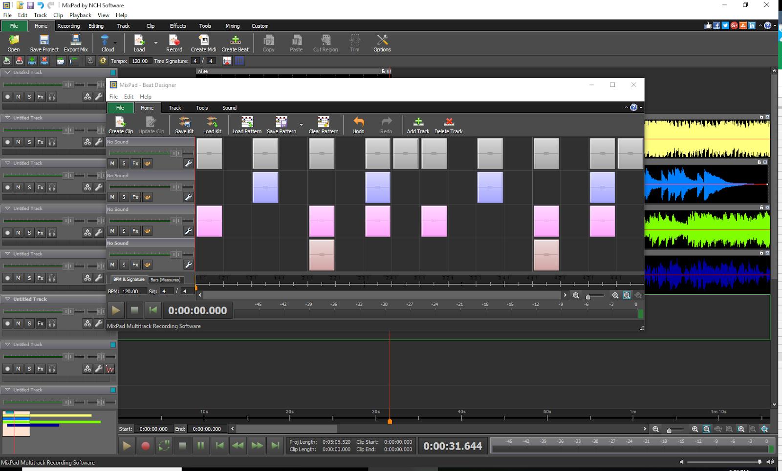 mixpad multitrack recording software crack serial