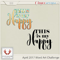 Word Art : This is My Happy by Little Feet Digital Design