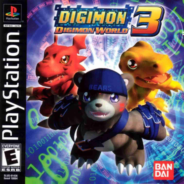 Digimon World 3 - PSX - Portada