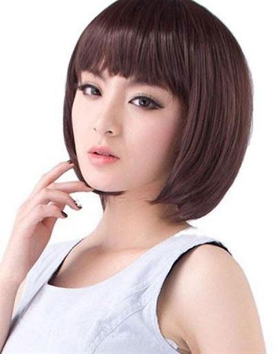 model rambut 2017 wanita wajah bulat
