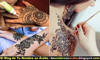 Como aplicar los tatuajes de Henna