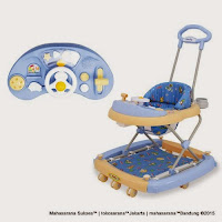 Baby Walker FAMILY FB2121 Car Melodies Music Rocker