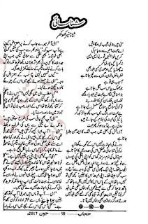 Shanasai by Sana Munir Khokhar Online Reading