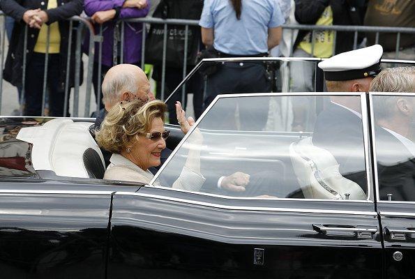 Crown Princess Mette-Marit, Princess Ingrid Alexandra, Princess Märtha Louise, Emma Tallulah Behn, Leah Isadora, Maud Angelica
