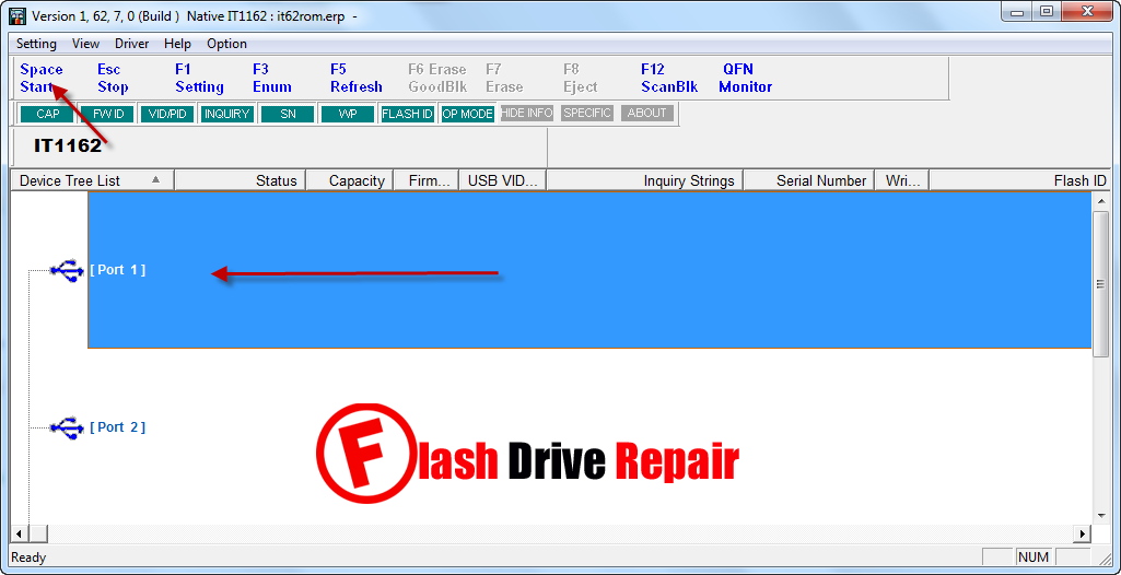 USbest ITE IT1162 flash firmware update v1 62 7 - Flash