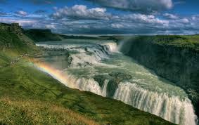 Gullfoss (Air terjun Golden), Islandia