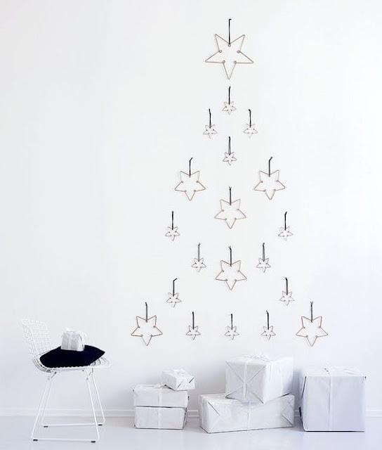 Alternativas originales para el Árbol de Navidad