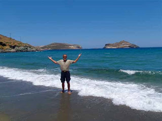 Wayne Dunlap Kolimbithra Beach Tinos Greek Island Greece