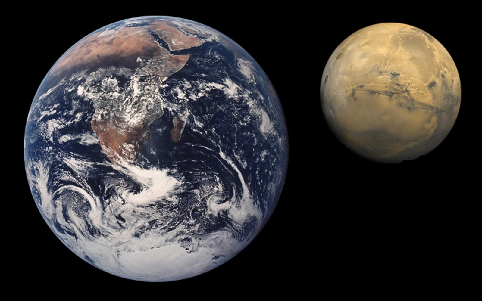 Venus Mars A Comparison Of The Earth To Sun Mercury Venus Moon Mars