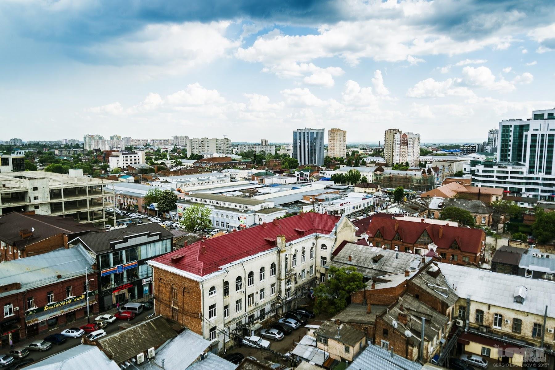 Смотровые площадки Краснодара