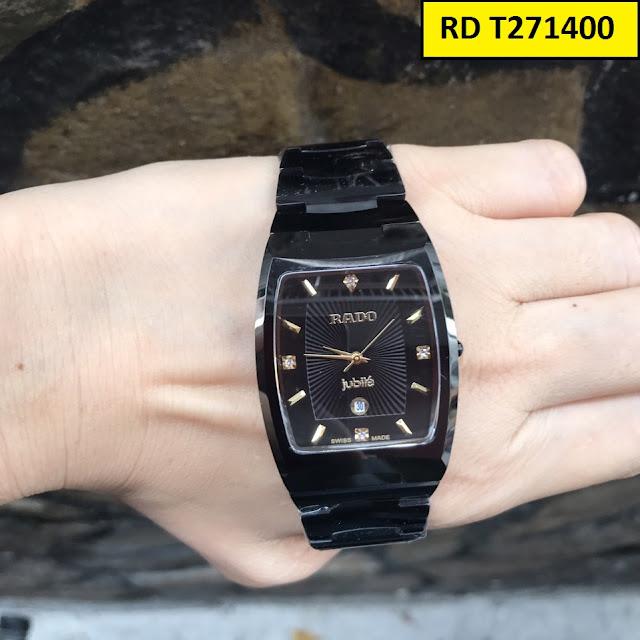 Đồng hồ nam mặt vuông Rado T271400