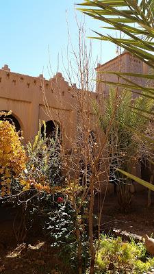 Patio interior de la Kasbah de Amridil
