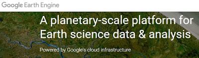 geospatial technology innovation google earth engine