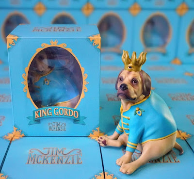 Five Points Festival Debut King Gordo Regular Edition Vinyl Figure by Jim McKenzie x 3DRetro