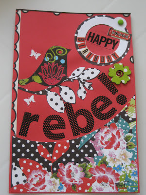 Tarjeta cumpleaños chica/ birthday card for a girl / carte d'anniversaire pour fille