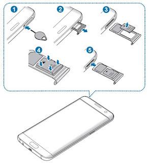 Come inserire memoria micro SD Samsung Galaxy S7 e S7 edge