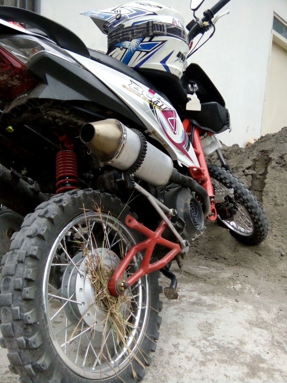 Modifikasi Motor Honda Beat Jadi Trail Kumpulan Modifikasi Motor