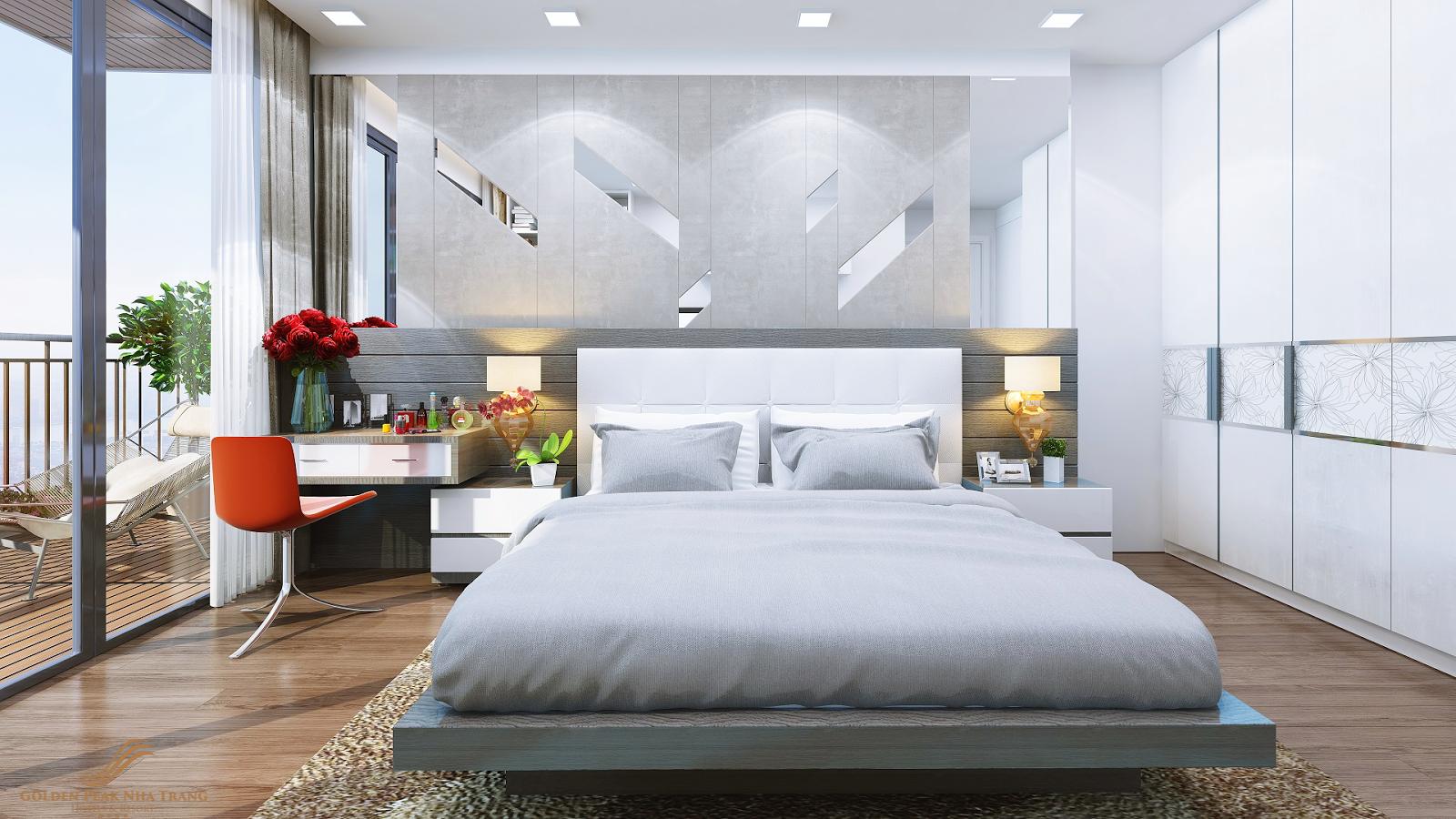 Thiết kế phòng ngủ dự án Golden Peak