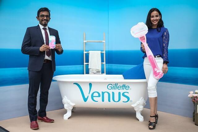 Gillette Venus, pisau cukur