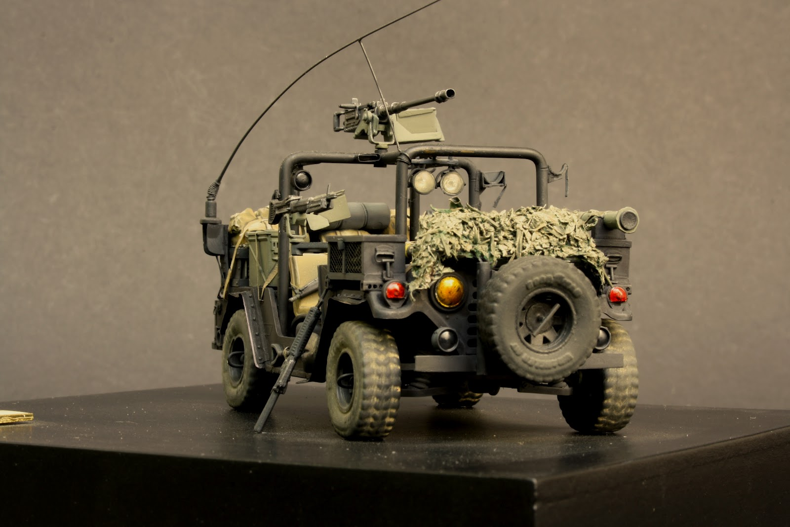 Miniature Creations Ranger M151 Fav As Seen In Military
