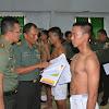 Kapenrem 141/Tp, 226 Orang Pesrta Seleksi Caba PK TNI Ikut Sidang Parade