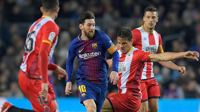 FC Barcelona Lionel Messi Vs Girona