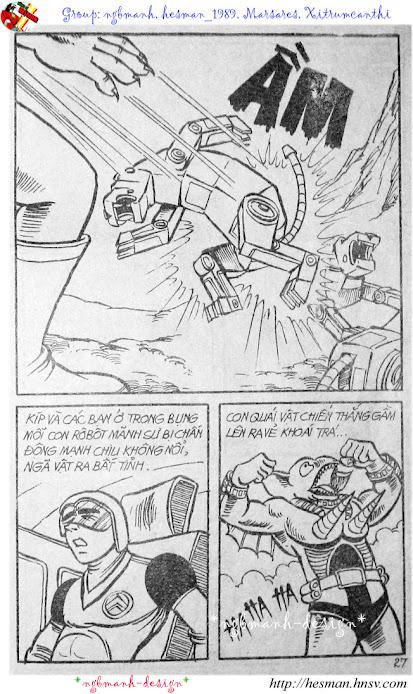 Dũng Sĩ Hesman tập 2 - hesman xuất hiện trang 15