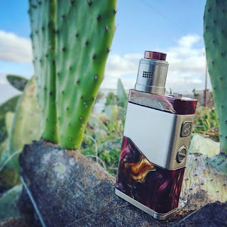 2018 The Most Unique RDA Kit Wismec LUXOTIC NC Vape Kit