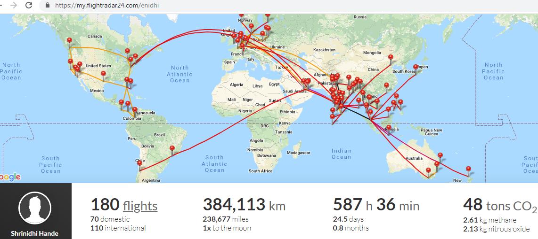 my flightradar24 com - interactive flight mapping tool