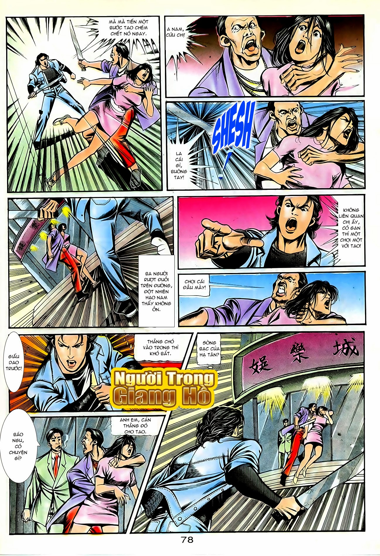 Người Trong Giang Hồ chapter 86: săn báo trang 21