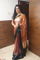 Udaya Bhanu lookssizzling in a Saree Choli at Gautam Nanda music launchi ~ Exclusive Celebrities Galleries 050.JPG