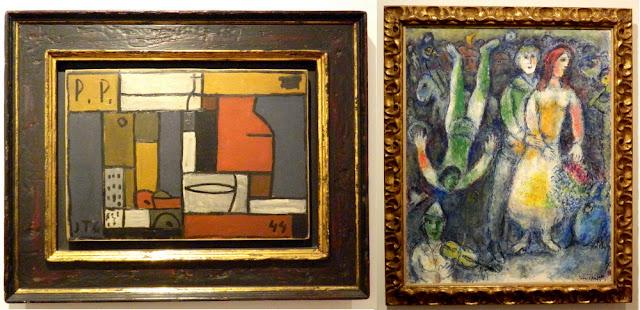 Obras de Torres-Garcia e Chagall, Museu Botero, Bogotá