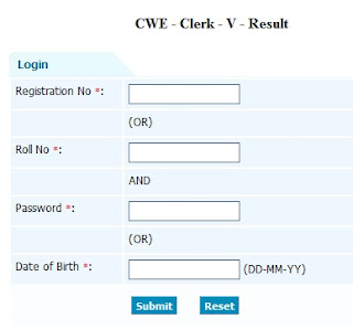 IBPS Clerk Exam Result