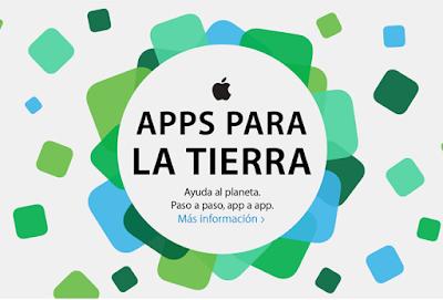 Apps para la Tierra, una iniciativa de Apple y WWF para ayudar a nuestro planeta. Ver. Oír. Contar.
