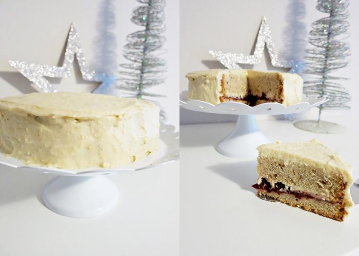 weihnachtliche Eierlikör-Zimt-Torte