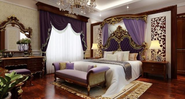 Thiết kế phòng ngủ phong cách tân cổ điển