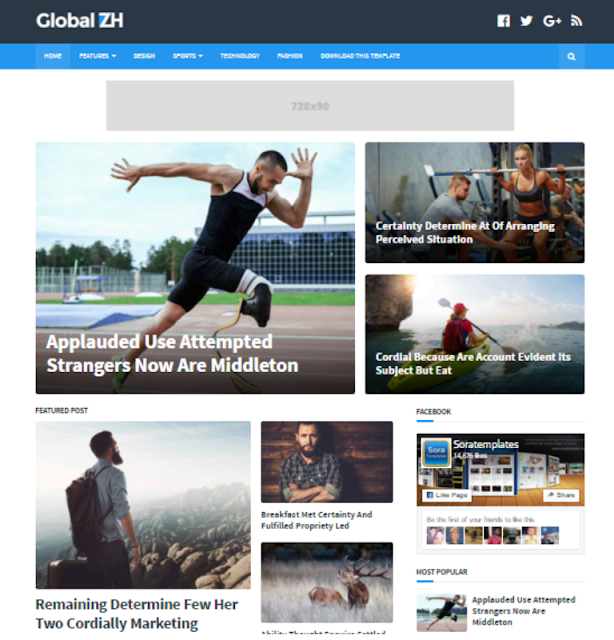 Global - Personal Blogger Template