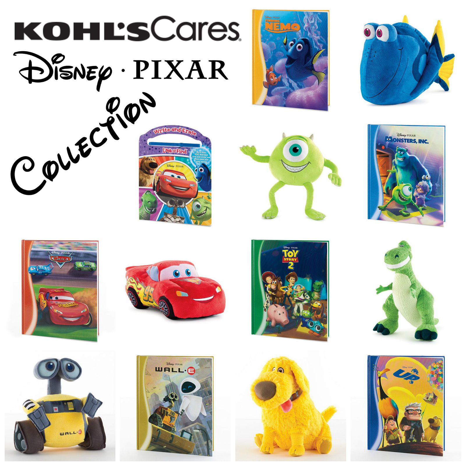 Kohl's Truly Cares: Disney Pixar Collection‏ - #KohlsCares ...