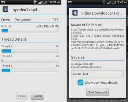 Facebook Video Downloader Apk For Android From PlayStore